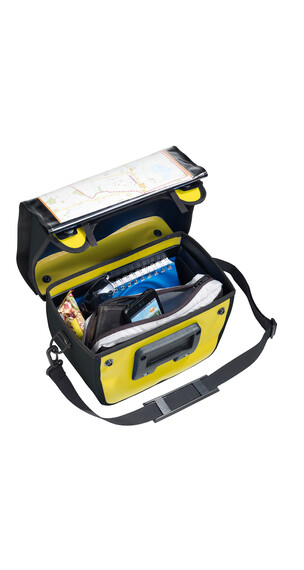 VAUDE Aqua Box fietstas geel